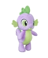 Paarse my little pony draak knuffel spike 28 cm