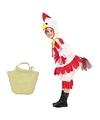 Paaskip kostuum maat 110 122 met paasmandje voor kinderen