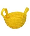 Paasmandje geel voor paaseieren