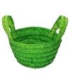 Paasmandje groen voor paaseieren
