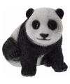 Panda beeldje 14 cm type 1