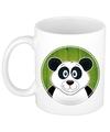 Panda mok beker voor kinderen 300 ml
