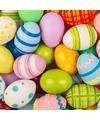 Pasen servetten gekleurde eieren 20 stuks