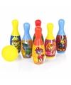 Paw patrol bowlingset 7 delig