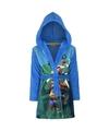 Paw patrol fleece badjas blauw voor jongens