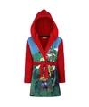Paw patrol fleece badjas rood voor jongens