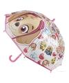 Paw patrol paraplu roze voor meisjes