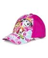Paw patrol pet cap fuchsia roze voor kinderen