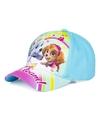 Paw patrol pet cap licht blauw voor kinderen