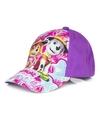 Paw patrol pet cap paars voor kinderen