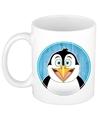 Pinguin mok beker voor kinderen 300 ml