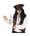 Piraat accessoires verkleedset ooglapje en zwaard