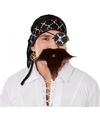 Piraat accessoires verkleedset voor volwassenen