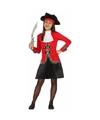 Piraat dolores kostuum voor meisjes