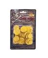 Piraat munten goud 65 stuks