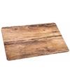 Placemat eikenhout opdruk 44 x 28 5 cm
