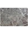 Placemat marmer grijs 43 x 28 cm