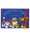 Placemat paw patrol 3d blauw 42 x 28 cm