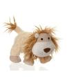 Pluche leeuw handpop 24 cm