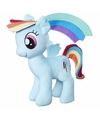 Pluche my little pony knuffel rainbow dash 30 cm