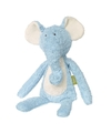 Pluche olifant knuffel blauw 38 cm
