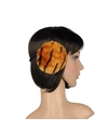 Pluche oorwarmers bruine tijger print voor dames