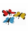 Pluche vlinder aan hanger