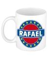 Rafael naam koffie mok beker 300 ml