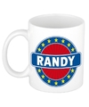 Randy naam koffie mok beker 300 ml
