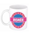 Rom e naam koffie mok beker 300 ml