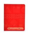 Rood basisschool oefenschrift a5