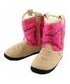 Roze cowboylaars sloffen voor dames