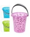 Roze emmer met waterdruppels 12 liter
