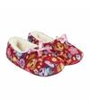Roze paw patrol pantoffels met strik voor meisjes