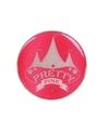 Roze pretty pink circus button met licht