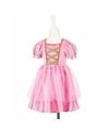 Roze prinsessen jurkje met kant voor meisjes