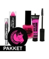 Roze uv make up pakket 5 delig