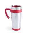 Rvs thermosbeker rood 500 ml