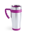 Rvs thermosbeker roze 500 ml