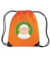 Schapen rugtas gymtas oranje voor kinderen