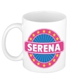 Serena naam koffie mok beker 300 ml