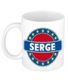Serge naam koffie mok beker 300 ml