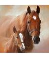 Servetten paard met veulen 3 laags 20 stuks