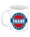 Shane naam koffie mok beker 300 ml