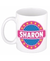 Sharon naam koffie mok beker 300 ml