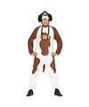 Sint bernard honden kostuum voor volwassenen