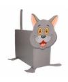 Sinterklaas grijze kat poes zelf maken knutselpakket