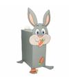 Sinterklaas konijn met wortels zelf maken knutselpakket