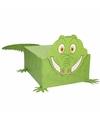 Sinterklaas krokodil sinterklaas surprise zelf maken knutselpakket