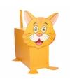 Sinterklaas oranje kat poes zelf maken knutselpakket